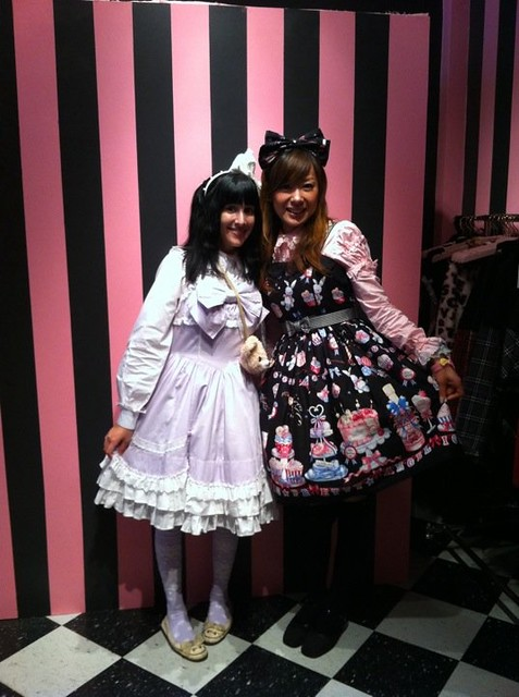 With Miho, Shop Girl at Angelic Pretty San Francisco!