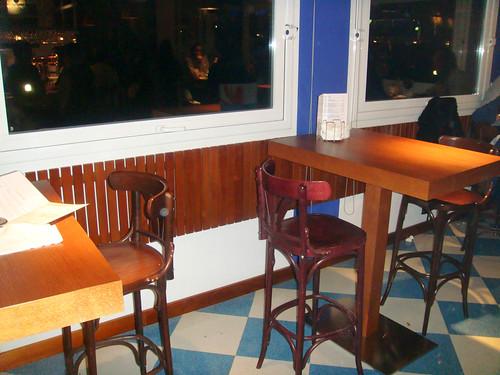 Mesas de la barra