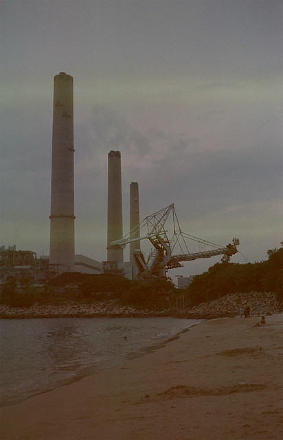 power plant on Lamma Island