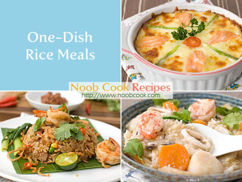 Meals for one recipes