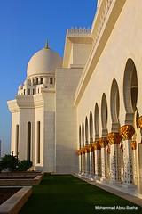 Al-Sheikh Zayed Mosque, Abu-Dhabi, UAE (Mohammad Abou-Basha) Tags: uae abudhabi 2009 supershot