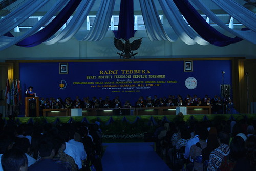 Suasana acara Graha ITS Surabaya