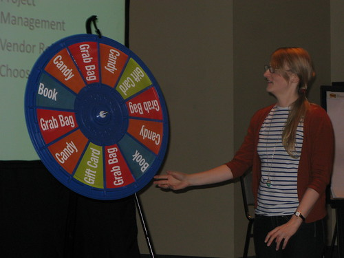 Wheel of Fortune Tech Conference Style