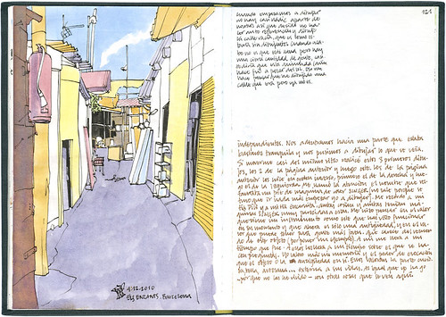 Barcelona, 29 1/2th SketchCrawl #2