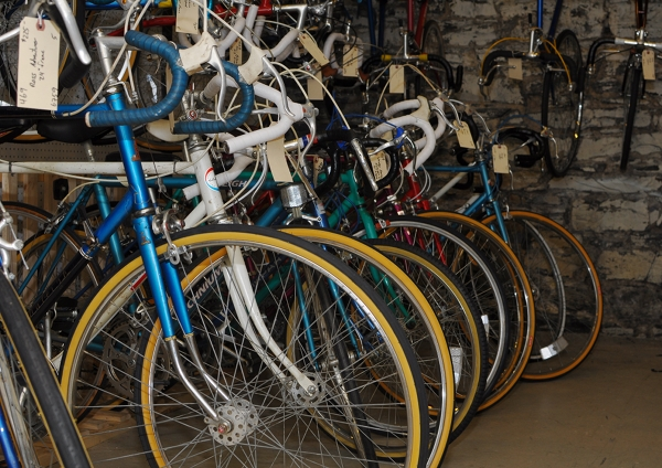 The Vintage Bike Shop: a Visit to 'Old Roads' in Cambridge, MA