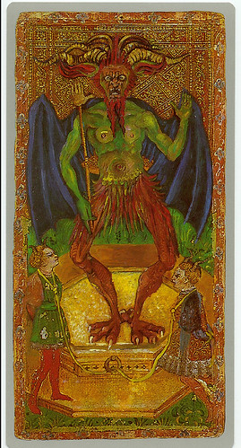 013-El demonio-Cary-Yale Visconti Tarot Deck