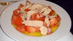 Ensalada de tomate con ventresca