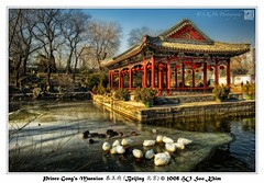 Prince Gong's Mansion  (Beijing ) (SKHO ) Tags: china travel building architecture nikon beijing     structural  princegongsmansion d700  nikond700 afsnikkor1735mmf28difed   architectureandcities  squarepondpavilion