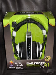 Turtle Beach Ear Force X41 - Dolby 7.1 headphones w chat for Xbox 360 (OpTILLmus) Tags: beach for chat turtle w xbox 360 71 headphones dolby x41 earforce