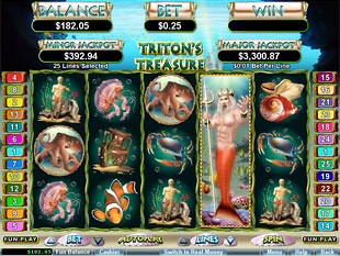 Tritons Treasureg slot machine