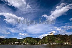 40033119 (wolfgangkaehler) Tags: river germany europe rivers fortress rhineriver 12thcentury braubach rhinerivergermany marksburgfortress