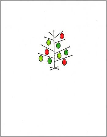 xmas card: tree