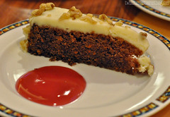 Sugar Free Carrot Cake at Mystic Lake Buffet ~ Prior Lake, MN