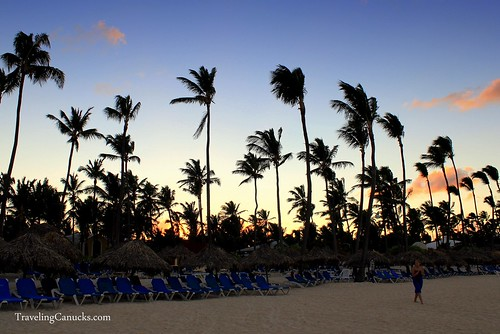 Caribbean Sunset at the Bavaro Princess Resort, Dominican Republic