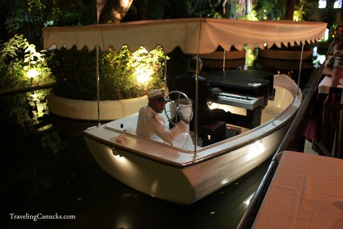 Piano on a Boat in the Restaurant at Bavaro Princess