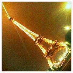 Eiffel @ Nite (macy has left the building) Tags: paris france night eiffeltower