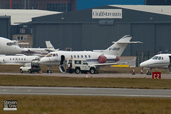 G-ODUR - HA-0041 - Private - Hawker Beechcraft 900XP - Luton - 100215 - Steven Gray - IMG_7122