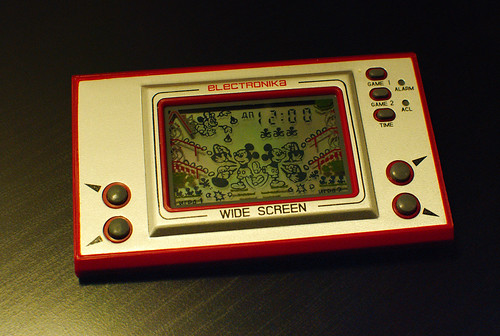 ELECTRONIKA Game&Watch clone Mickey Mouse (Russian market) (front)