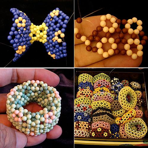 Moléculas con abalorios