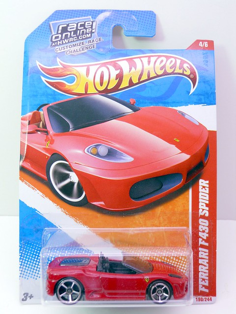 hot wheels ferrari f430 spider red (1)