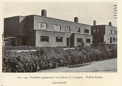 Glasgow City Council housing - cottage block, Pollok Estate, Glasgow - c1945 (mikeyashworth) Tags: scotland glasgow 1940s housing tenements pollok socialhousing glasgowcitycouncil councilhousing mikeashworthcollection