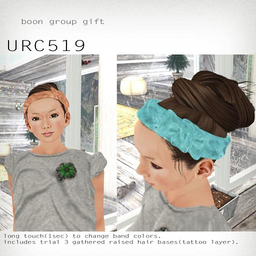 booN group gift URC519 hair