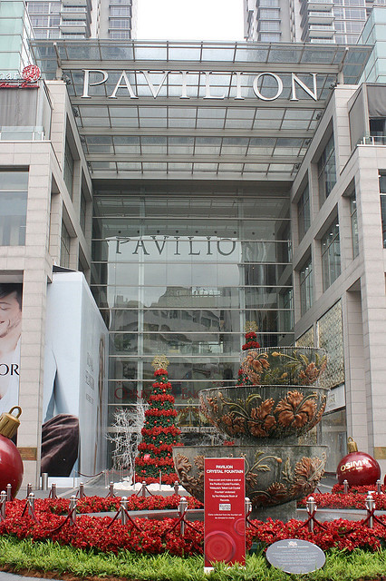 Pavilion mall at Bukit Bintang