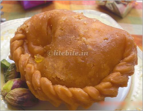 Chandrakala-an Indian delicacy
