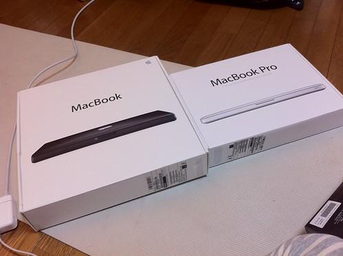同じインチでも箱の大きさが違う