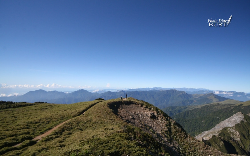 奇萊主峰峰頂就在眼前了