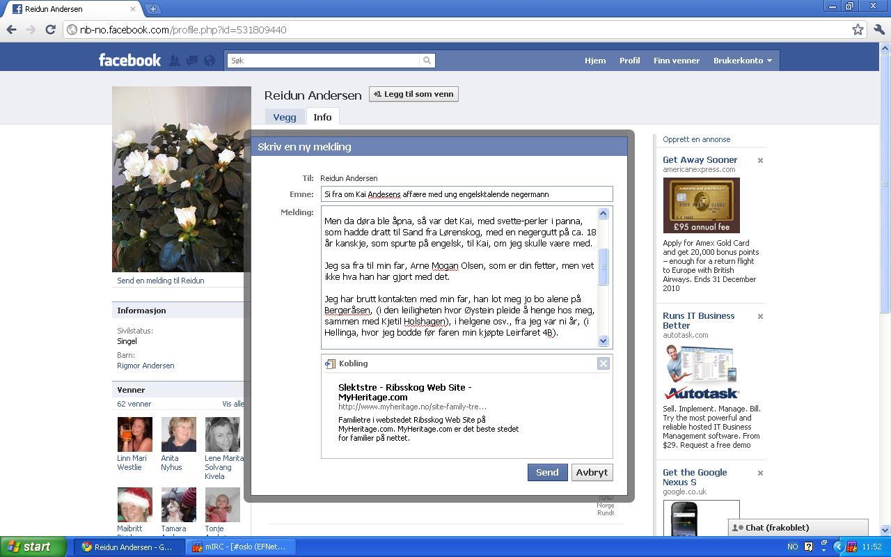 facebook melding reidun andersen