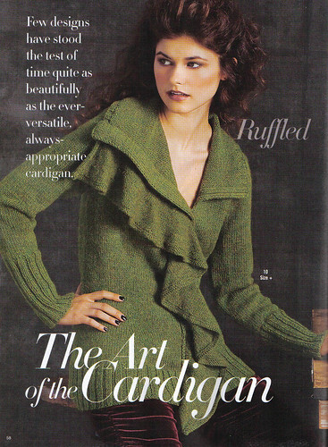 Gaughan vogue cardigan