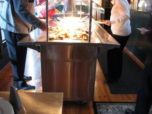 Paula Deen's buffet
