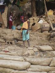 d'un village au bord du Niger