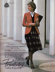 Pendleton Skirt T&C Aug 79  2 (BreakTime) Tags: fashion magazine belt high long pumps dress august skirt business suit 70s heels 1970s midi calf length 1979 mid skirts hems career pleated towncountry longskirt hem hemline hemlines midcalf skirt midiskirt