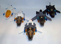 LEGO - Mars Mission Fighters (retired) (Slayerdread) Tags: lego space moc figher marsmission