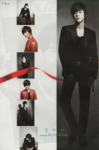 Kim Hyun Joong Choa Japanese Magazine 1