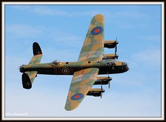 AVRO LANCASTER (Wings & Wheels Photography.) Tags: canon aircraft aviation wwii airshow lancaster bomber 1025favs avro bluediamond