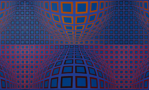 "Victor Vasarely • <a style=""font-size:0.8em;"" href=""http://www.flickr.com/photos/30735181@N00/5323512785/"" target=""_blank"">View on Flickr</a>"