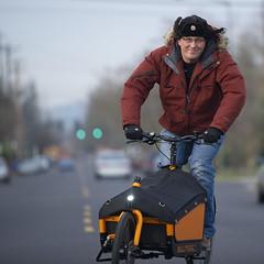 Bullitt (EthanPDX) Tags: orange bike john long harry cargo larry vs clockwork bullitt transportland