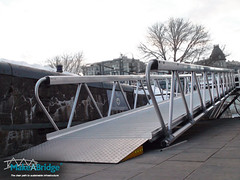 makeabridge - Spa Bota Bota - Aluminum modular gangway 03 (maadigroup inc) Tags: railroad bridge usa nature architecture golf foot design construction marine aluminum portable industrial ship quebec crane gator steel welding military navy structures floating engineering continental pedestrian structure trellis equipment architect trail pony walkway modular maritime assemble pont builders vehicle warren material easy elevated naval harbors corrosion platforms skyway breakwater lessard ecofriendly lifting coastlines marinas gangway contect skywalk shipbuilding retrofit truss assembler eroding passerelle lifters spreader flottant attenuator prefabricated fabricator facile bridgespan modulaire enwood surespan