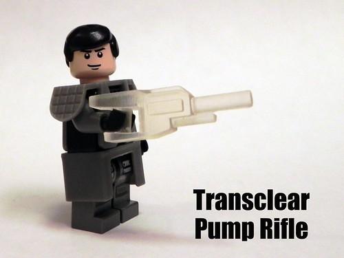 Transclear Pump Rifle