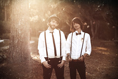 broskis (Kevin Conor Keller) Tags: wedding vintage 85mm scratches sean canon5d 18 bros conor mkii fortysixty mrbattle