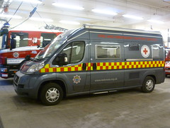 HX10BXC British Red Cross Fiat Trigano Tribute Fire & Emergency Support Vehicle based at Haywards Heath Fire Station (British Red Cross.) Tags: haywardsheath brc britishredcross kentsussex eventfirstaid trojan631 fireemergencysupport christophermcgonigall