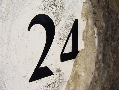 No 24 - broken & angled