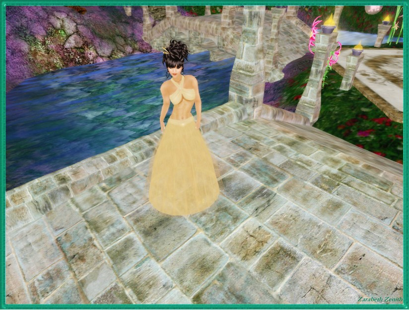 Coconut Ice ~ Starry Nights Gown (Gold Dust)