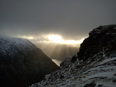Light over Crummock Water Photo