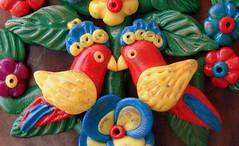 1/52 Bird a Week 2011 (Lorena Angulo) Tags: flowers birds polymerclay challenge treeoflife lorenaangulo birdaweek baw2011