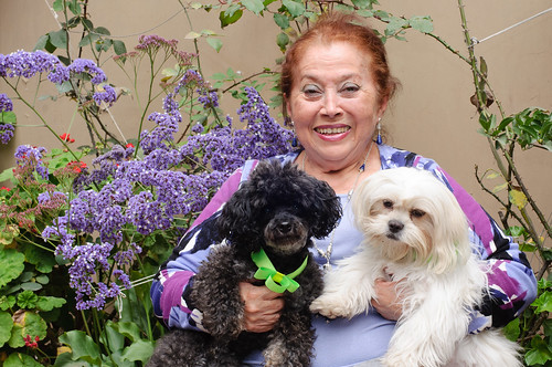 Mema with Gypsy and Cookie