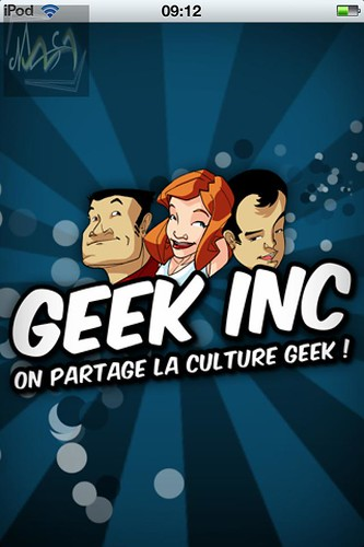 Le podcast GeekInc a aussi son application iOS.